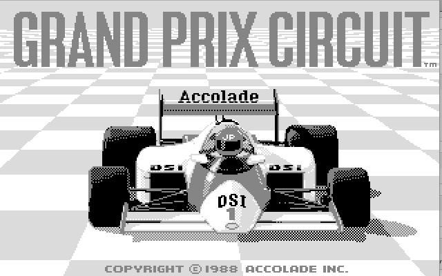 Grand Prix Circuit - заставка
