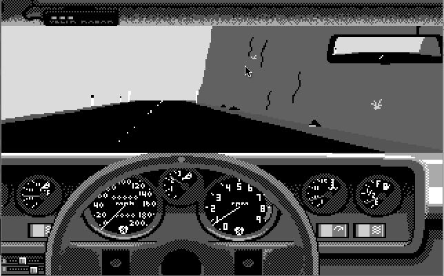 Test Drive - автомобиль на трассе